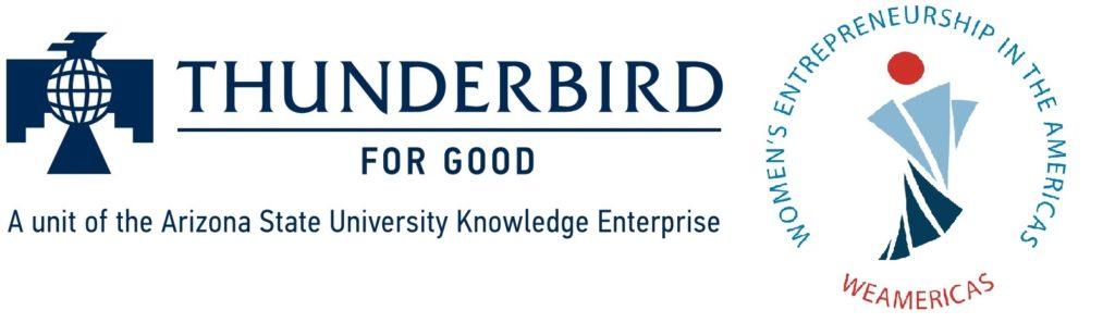 Thunderbird for Good WeAmericas Accelerator Logo